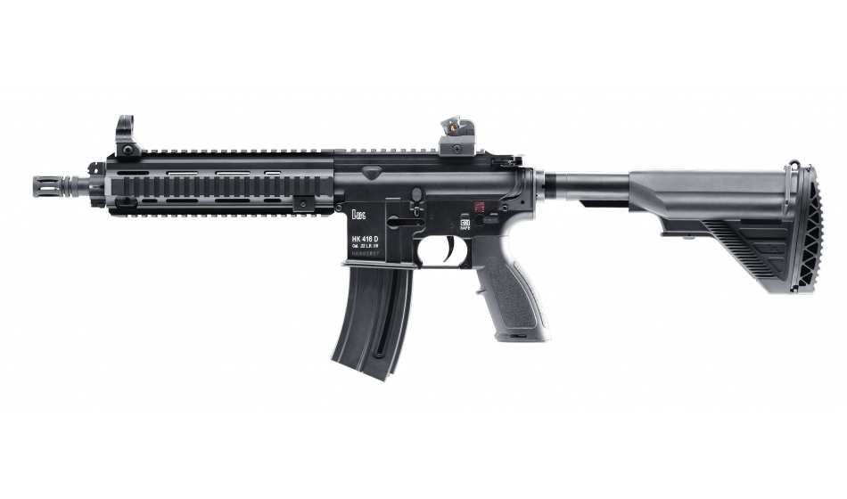 Heckler & Koch HK416 D10RS .22 L.R Semi Auto Rifle – Glasgow Angling ...